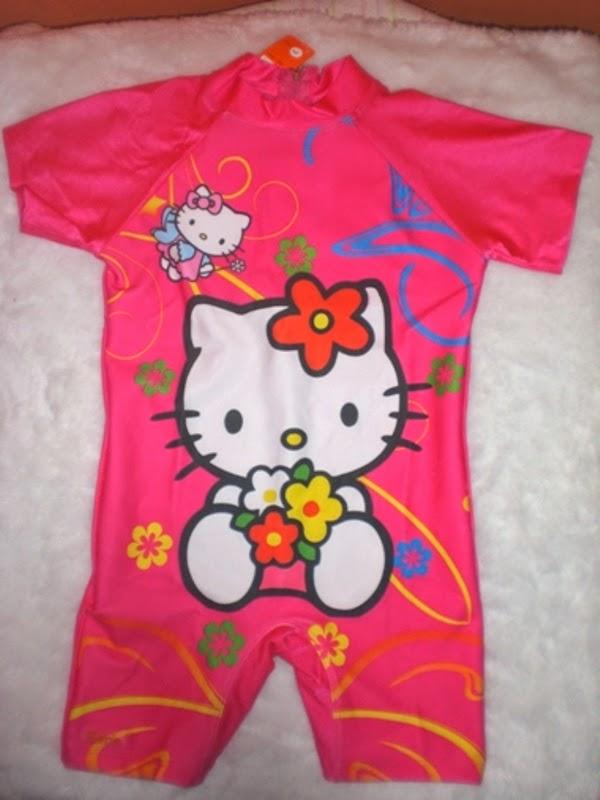 Model baju renang hello kitty untuk anak terbaru