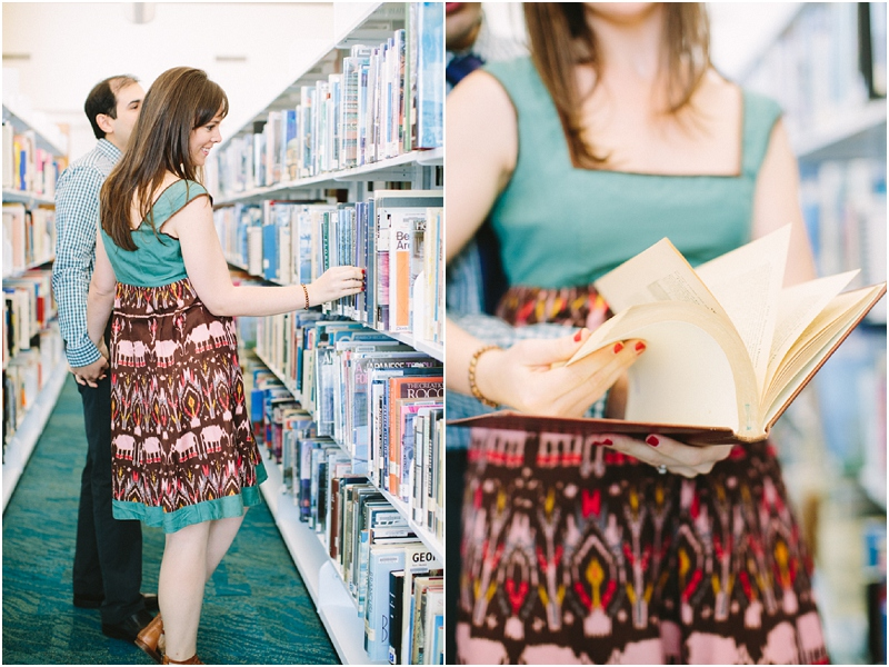 library engagement photos south florida