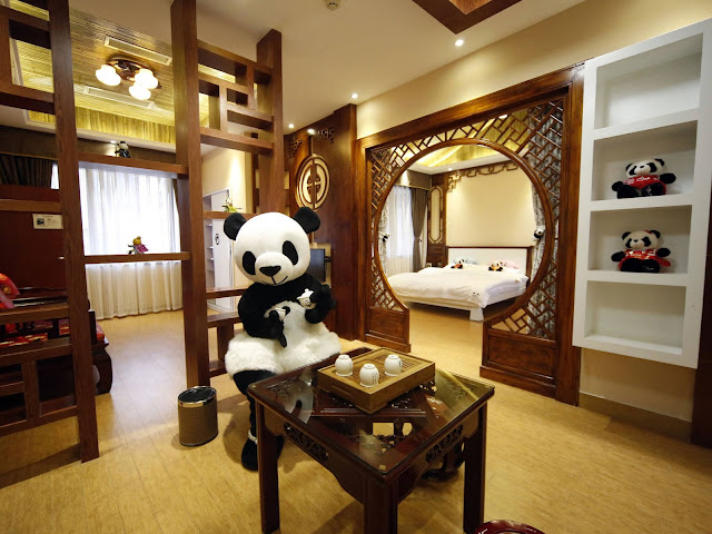 A Picture of the rooms at Haoduo Panda Hotel