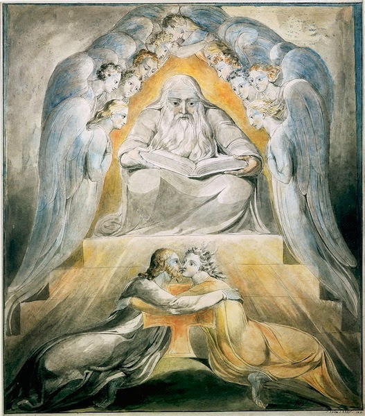 Mercy and Truth are Met Together, Righteousness and Peace Have Kissed Each Other Origination: William Blake
