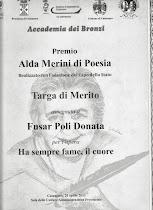 Accademia dei Bronzi - 2° Edizione - Premio di Poesia