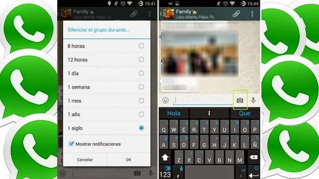 WhatsApp permitirá silenciar charlas grupales de por vida