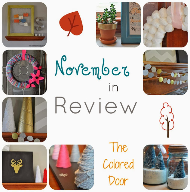 November in Review - the colored door