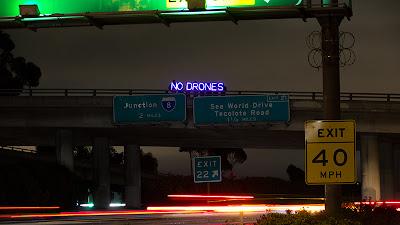"""NO DRONES"" - Overpass Light Brigade"
