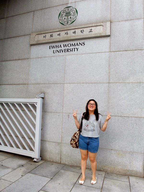 Ewha Summer Studies Field Trip SBS Inkigayo Seoul South Korea lunarrive travel blog