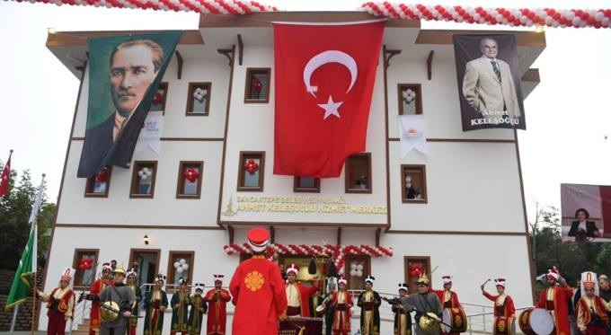 Paşaköy Ahmet Keleşoğlu Hizmet Merkezi açıldı
