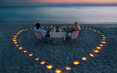 fotos de cena romantica