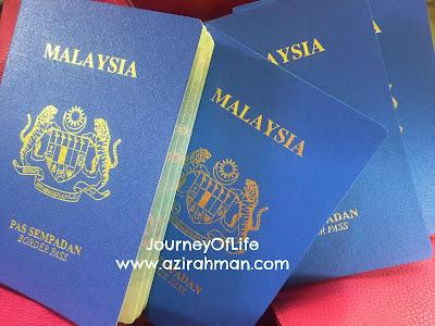 pertama kali buat border pass, border pass ke thailand, info imegresen