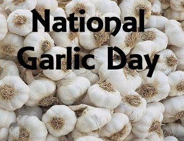 Happy National Garlic Day