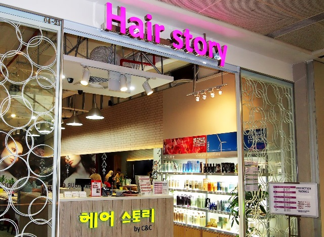 hair story korean concept somerset singapore