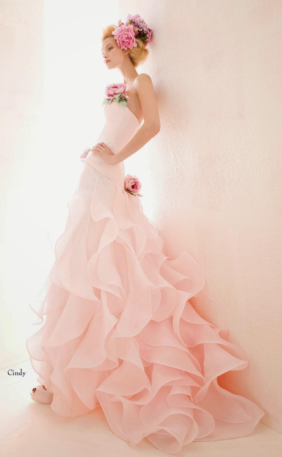 sposa on Pinterest  Chiffon, Stiles and Green Wedding Dresses
