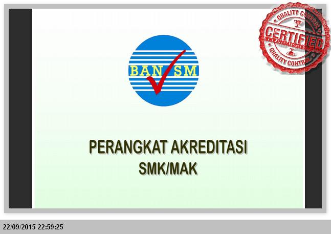 Perangkat Akreditasi Smk Dan Mak Lengkap Sesuai Ban Sm Wiki Edukasi