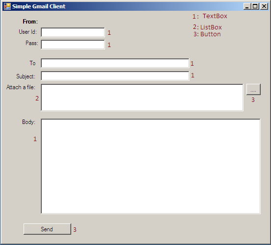 how to make an email client in vb
