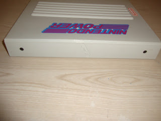 Rare Nintendo Power Stationary Binder 3 Prong