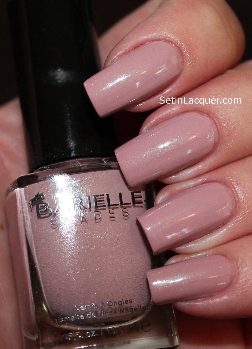 Barielle New York Style Fall collection swatches - Set in Lacquer