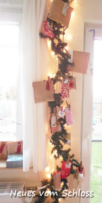 upcycling- Adventskalender, neuesvomschloss.blogspot.de