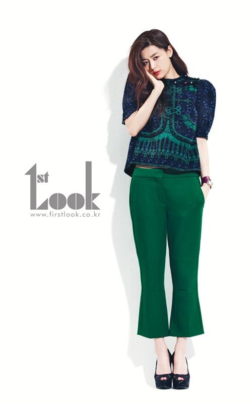 Jun Ji Hyun for FirstLook - July 2012