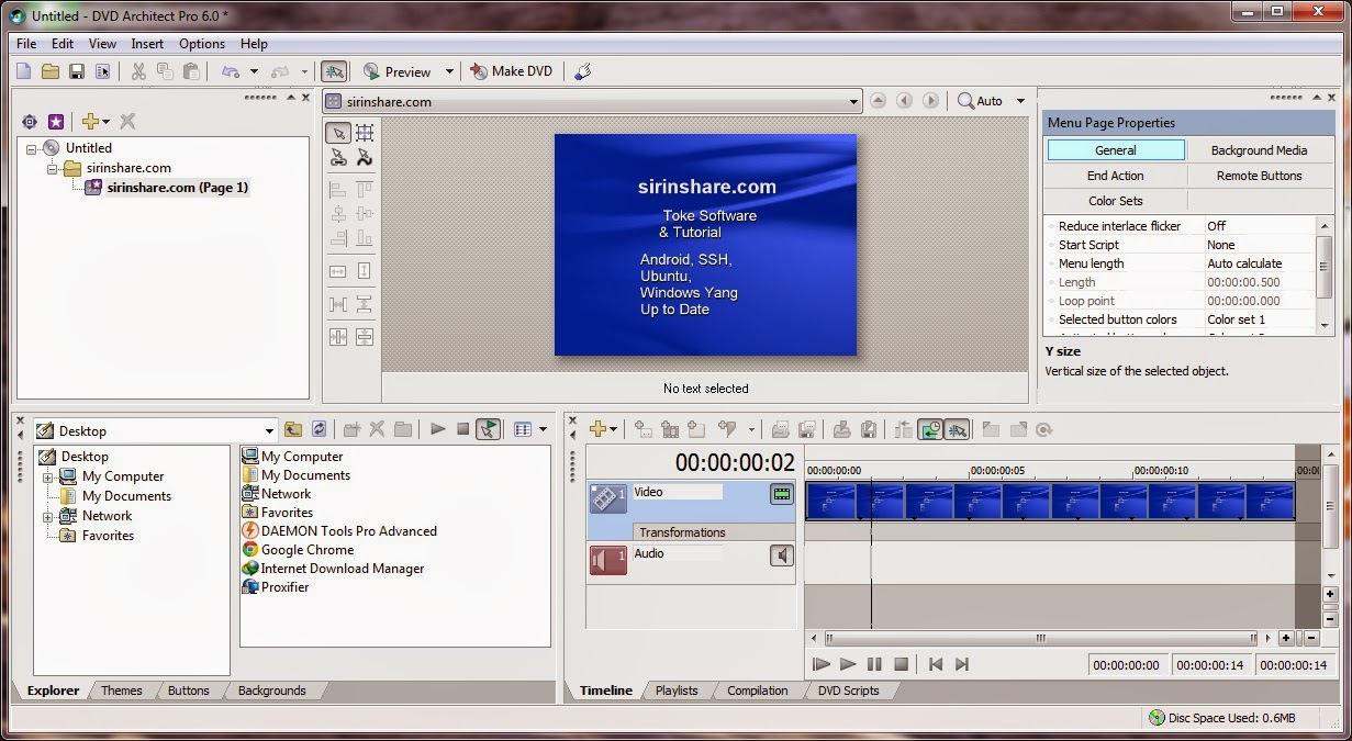 dvd architect pro 6.0 keygen