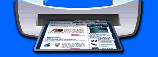 Atalho para imprimir Pagina de Internet (Webpage)