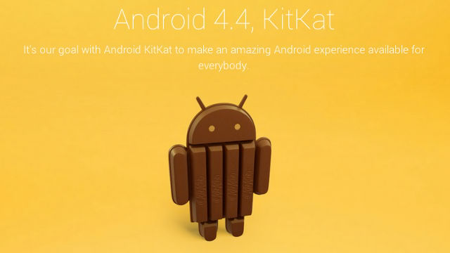 Android 4.4 is announced, along with a new milestone for Android activations.