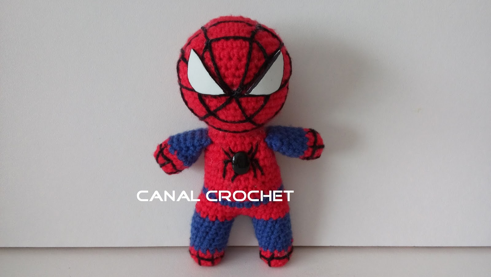 CANAL CROCHET: Super Heroes amigurumi patron libre.
