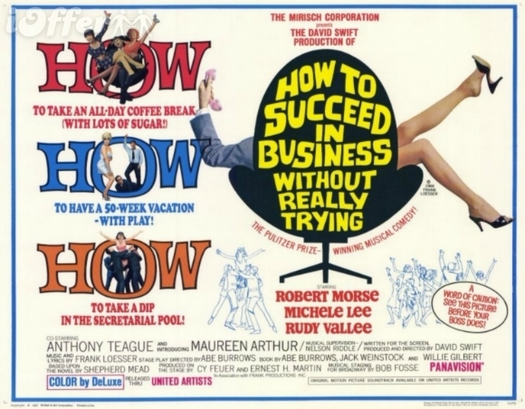 how to suceed in business Christopher hanke, mary faber and the cast of the 2011 broadway revival of how to succeed in business without really trying.