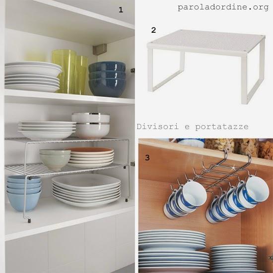 Divisori per cassetti cucina idee per la casa - Mobili separatori ...