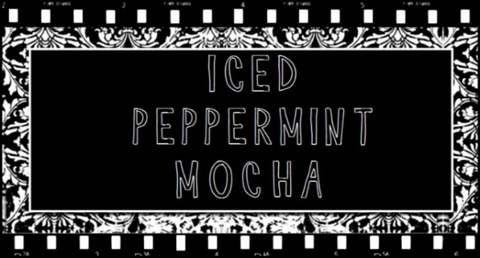 Iced Peppermint Mocha