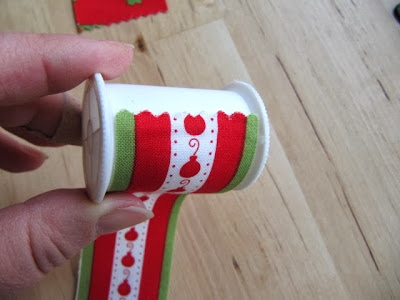 spool of thread garland
