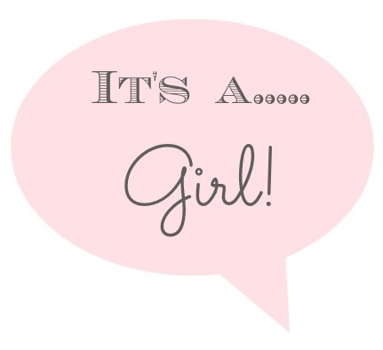 The Classy Woman Baby Gender Reveal Time Its a – How to Announce Baby Girl