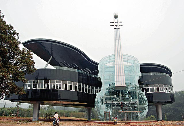 most unique buildings in the world piano house China - Polling Of Cyber Shots December 2013