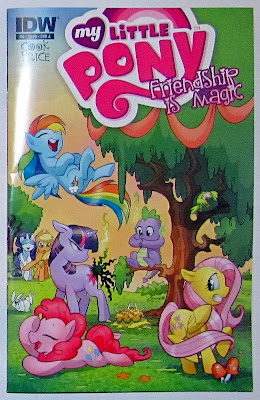 MLP:FiM comic issue #4 (Amanda Conner cover)