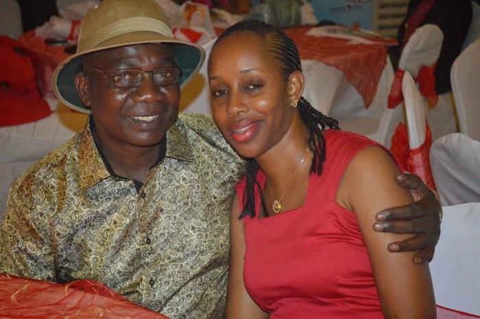 Mmiliki wa Michuzi Media Group, Mr. Michuzi na mkewe