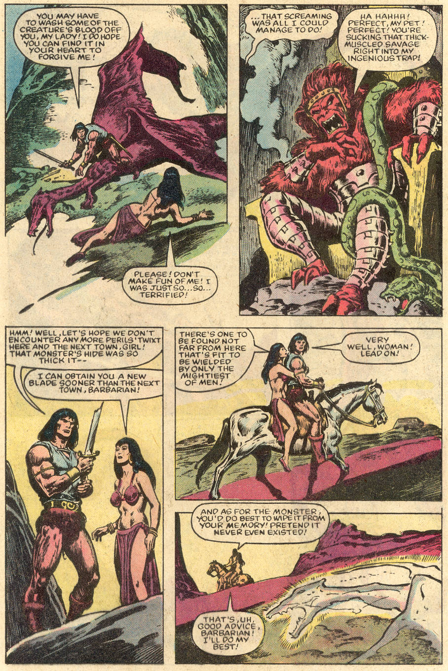 Conan the Barbarian (1970) Issue #152 #164 - English 6