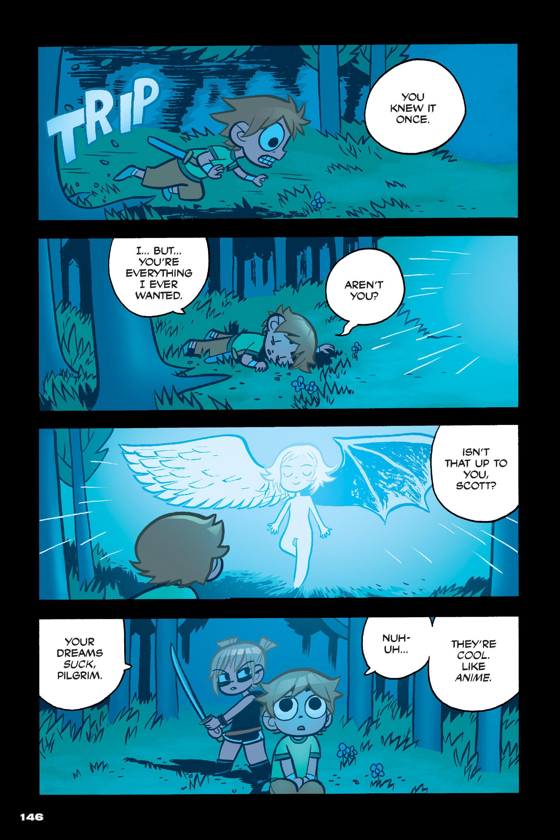 Read online Scott Pilgrim comic -  Issue #4 - 143