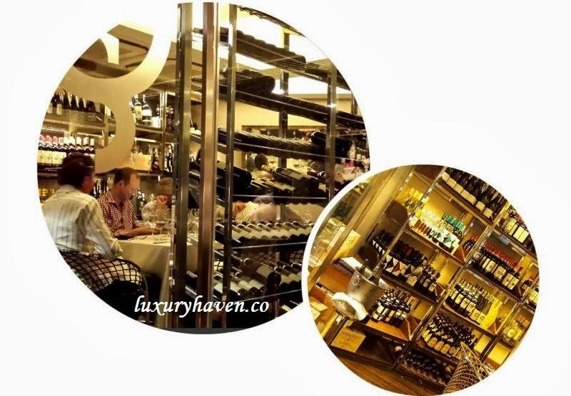 oso ristorante bukit pasoh singapore wine cellar