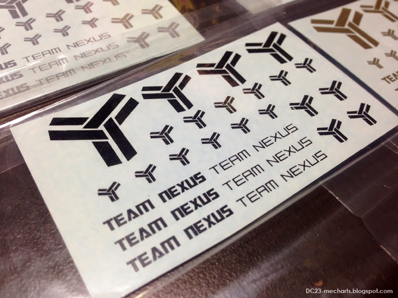 TEAM NEXUS decals for Operation Accord 2014photo