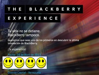 Este 24 de abril es el día esperado por todos, al fin sera el lanzamiento del BlackBerry Z10 en Venezuela. Movistar y Digitel ya los tienen en sus depósitossegúnnuestras fuentes y seguramente unos día después del lanzamiento oficial los estarán ofreciendo en sus oficinas comerciales al publico. La gran interrogante es el precio, nos soplaron que estaría por los 8 mil bolívares aproximadamente, pero esta por confirmarse.