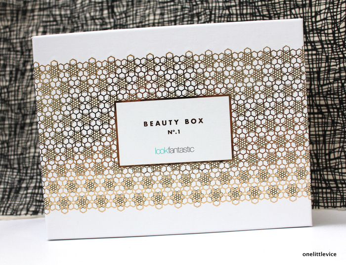 onelittlevice beauty blog: lfbeautybox contents