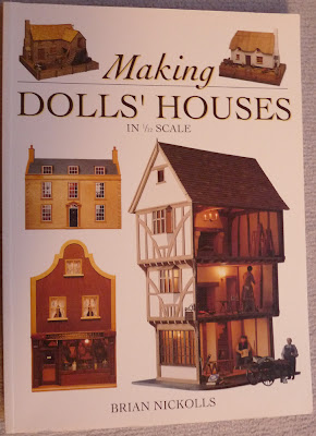 Making DOLLS'HOUSE in 1/12 scale,Brian NICKOLLS,Miniature,Livre