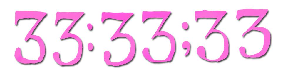 33:33;33