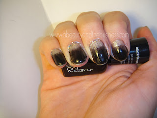sally hansen gel polish swatch, sally hansen gel black tie optional swatch