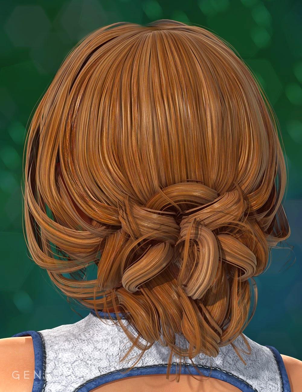 Kita cheveux pour Genesis 2 Femme