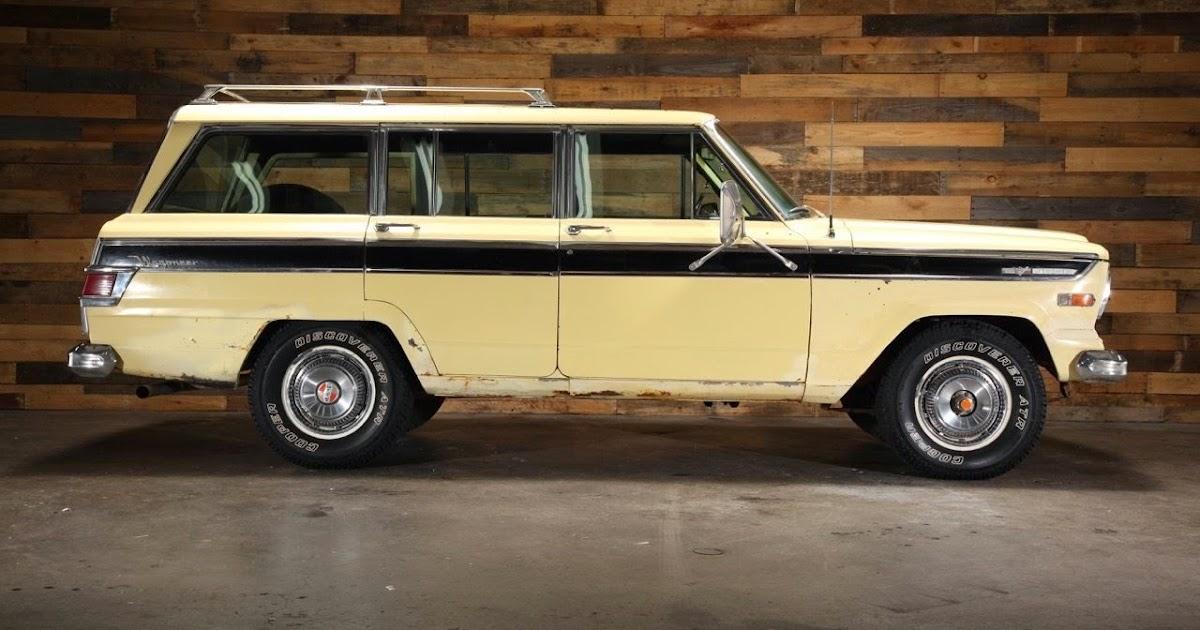 All American Classic Cars: 1970 Jeep Wagoneer SJ 4WD 4-Door SUV