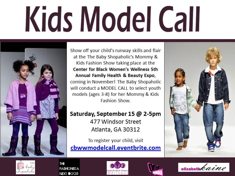 calling all kid models family health beauty fashion