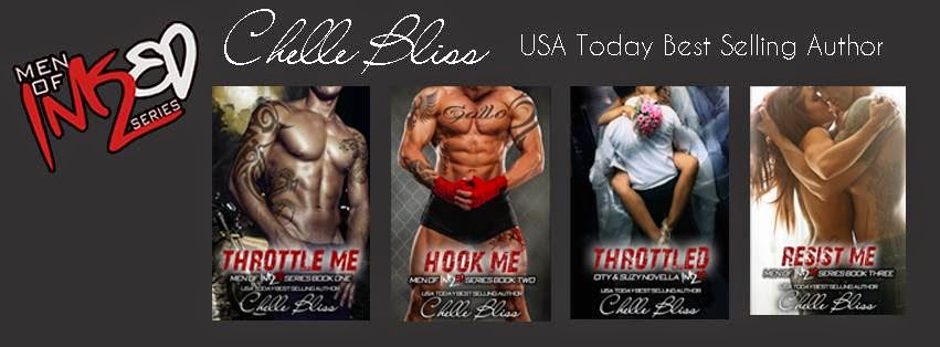 Men of Inked Series by Chelle Bliss