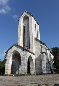 Old French church in Sapa town