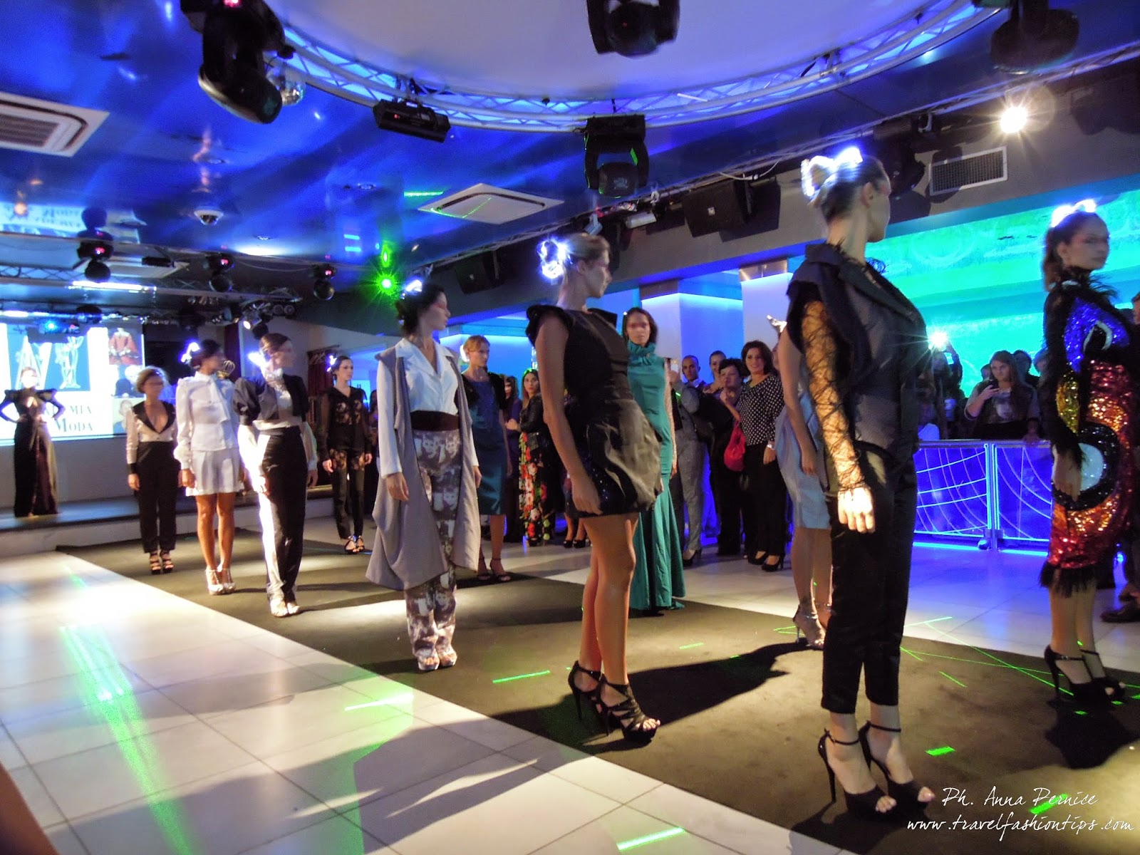 Music on fashion party per l accademia della moda di for Accademia moda napoli