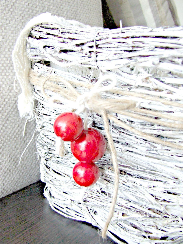 rustykalny koszyk DIY donica wiklinowa Eco Manufaktura