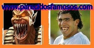 Baraka Mortal Kombat Carlos Tevez